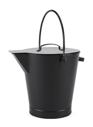 All Black Ash Bucket / PC - Black