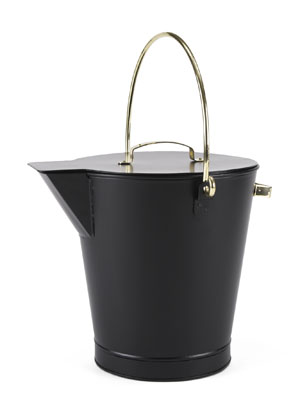 Ash  Bucket  / PC - Black