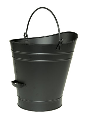 Coal Hod / Pellet Bucket - Large / PC - Black
