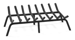 "28"" Non-Tapered Grate PC - Black"