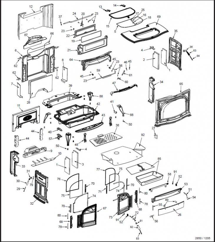 Vermont Castings, Stove King- the firelace parts store- Stove King ...