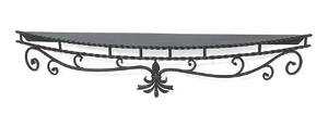 "Mantel Shelf - Wrought Iron - 72""          *Net / Net"