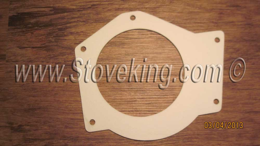 Combustion fan gasket (housing to stove)