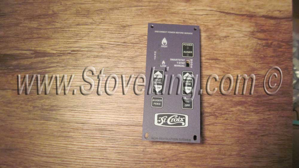 Control Board Overlay for 80P30523-R